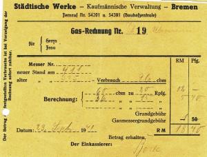 Rechnung 1941